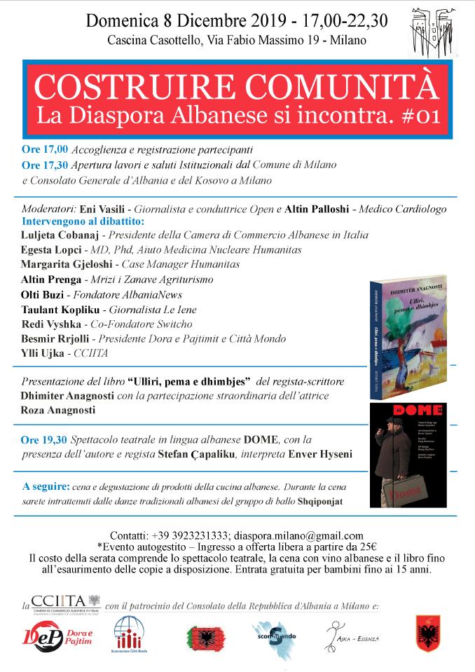 Evento Milano Diaspora Albanese
