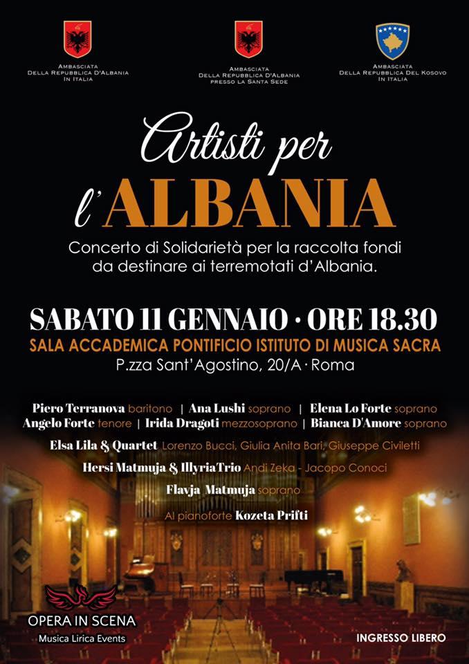 Artisti Albania Evento Roma
