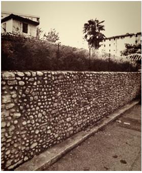 Le mura di cinta, Scutari Albania