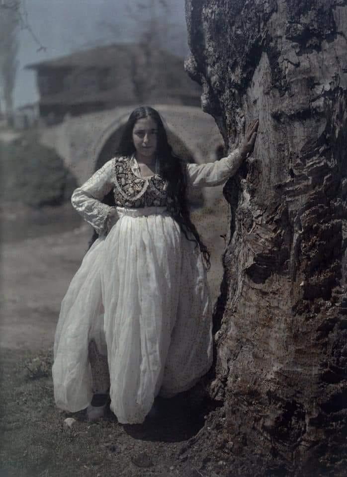 Foto Tirana 1928 Fotografo Italiano Luigi Pellerano National Geographic