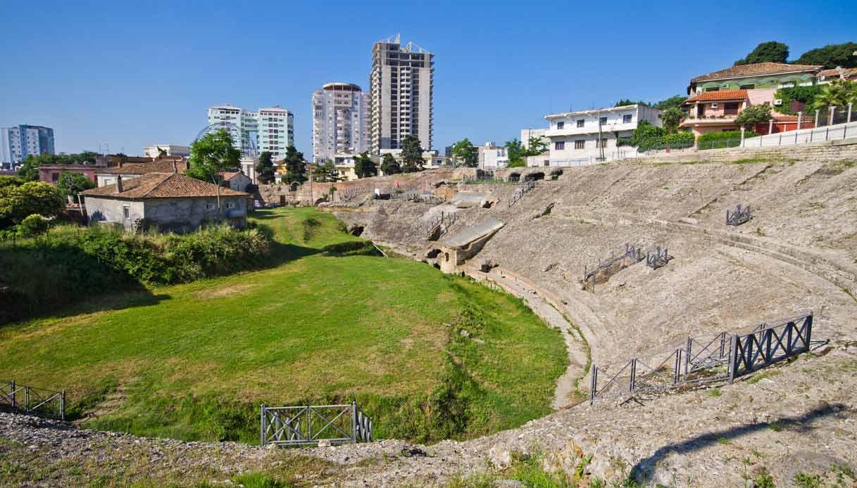 Durazzo Albania Anfiteatro