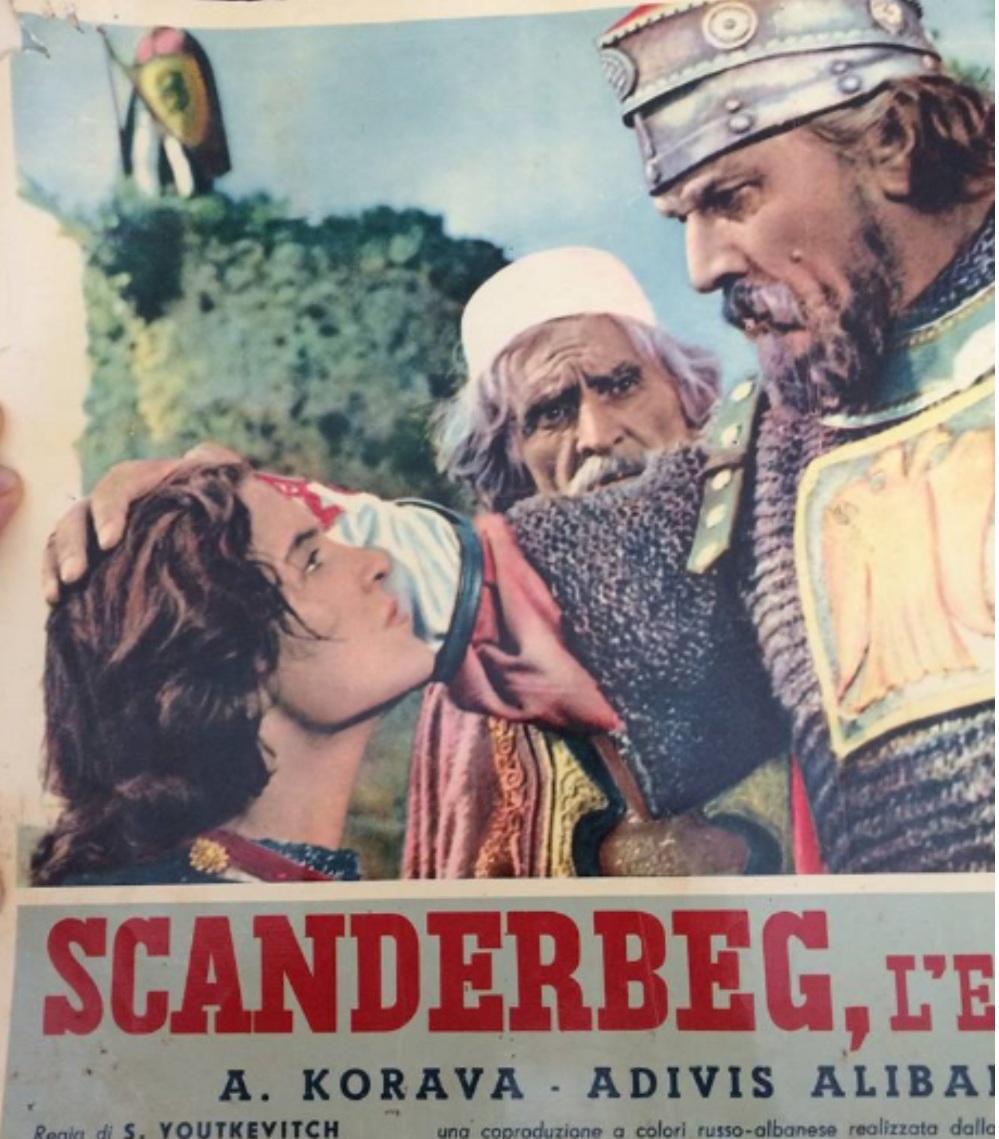 Scanderbeg Poster Film