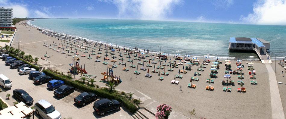 Spiaggia di Shëngjin, Lezhë, Albania