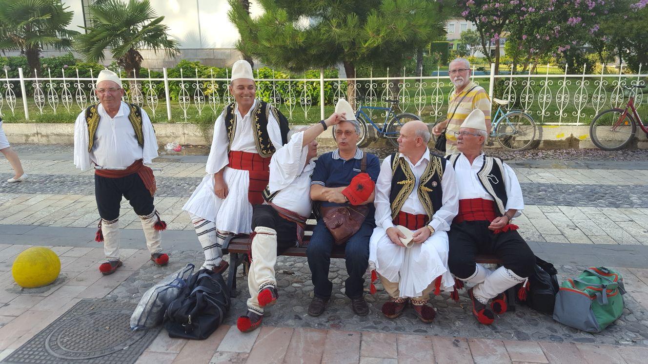 Domenico Cuccia in Albania