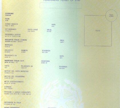 Il permesso di soggiorno come mappa e bussola: gli albanesi ...