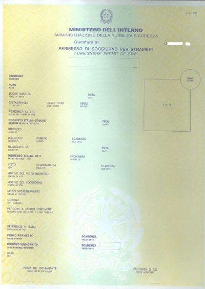Il permesso di soggiorno come mappa e bussola: gli albanesi in Italia