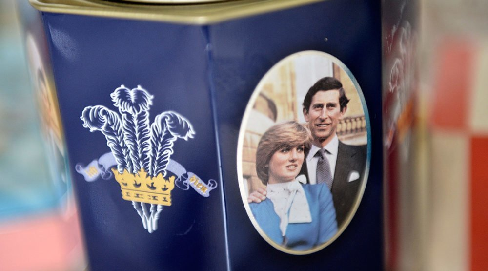 Princesha Diana Princ Charles
