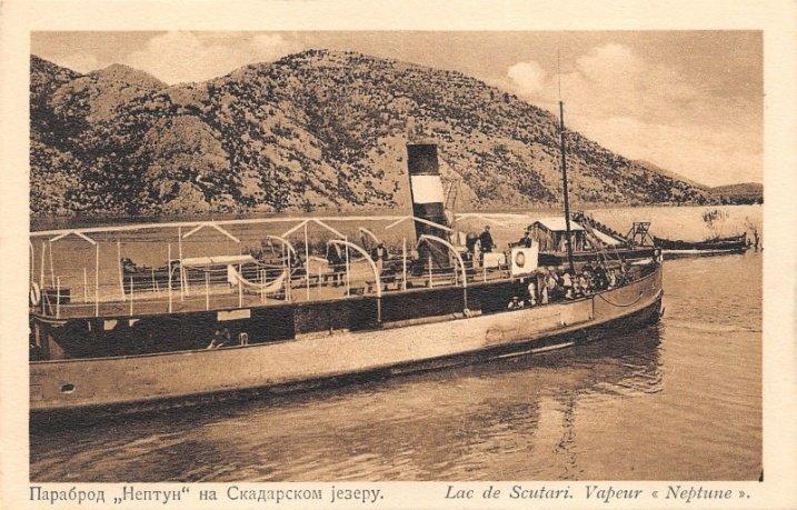 Avullore, Liqeni i Shkodrës