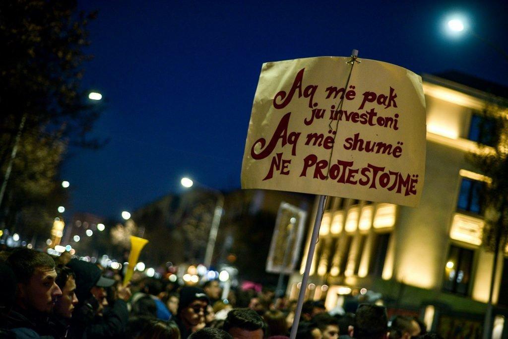 Protesta studentore tirane 5