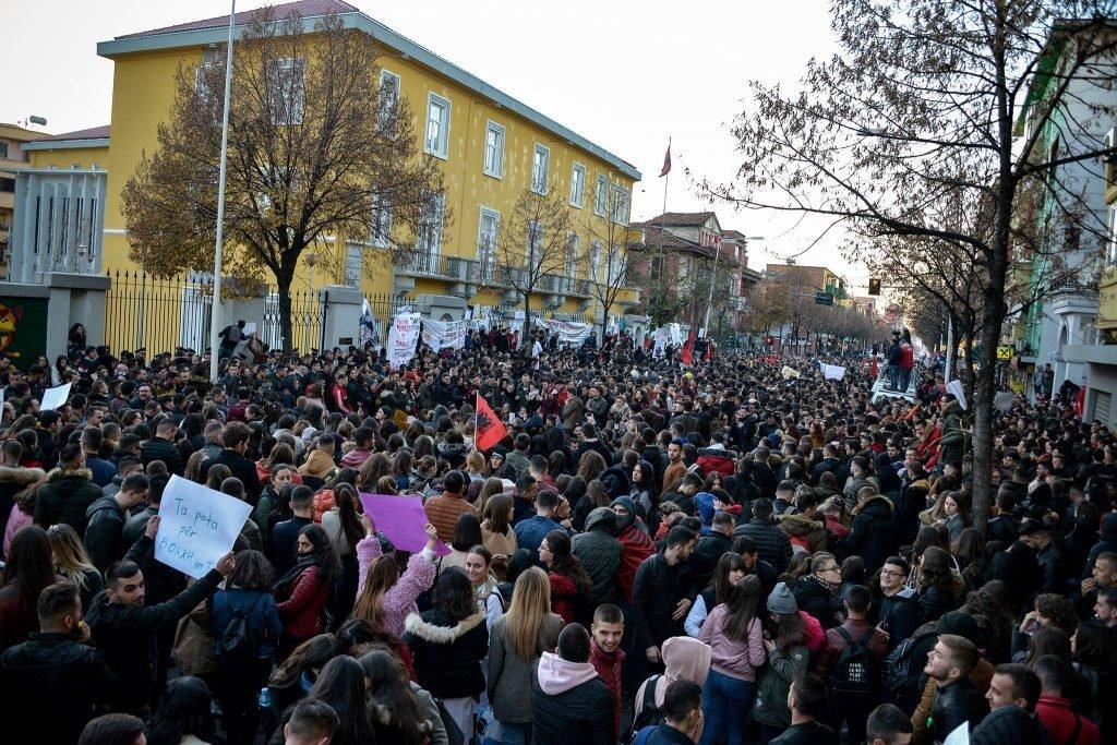 Protesta studentore tirane 7