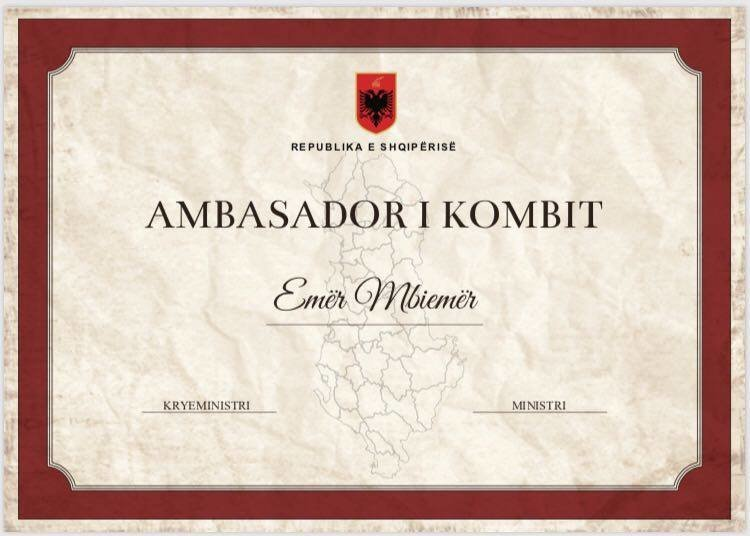 Ambasador I Kombit