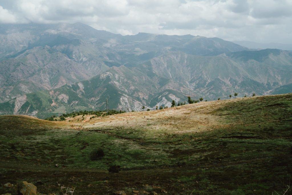 Pamje nga Hamzi, Shqipëri