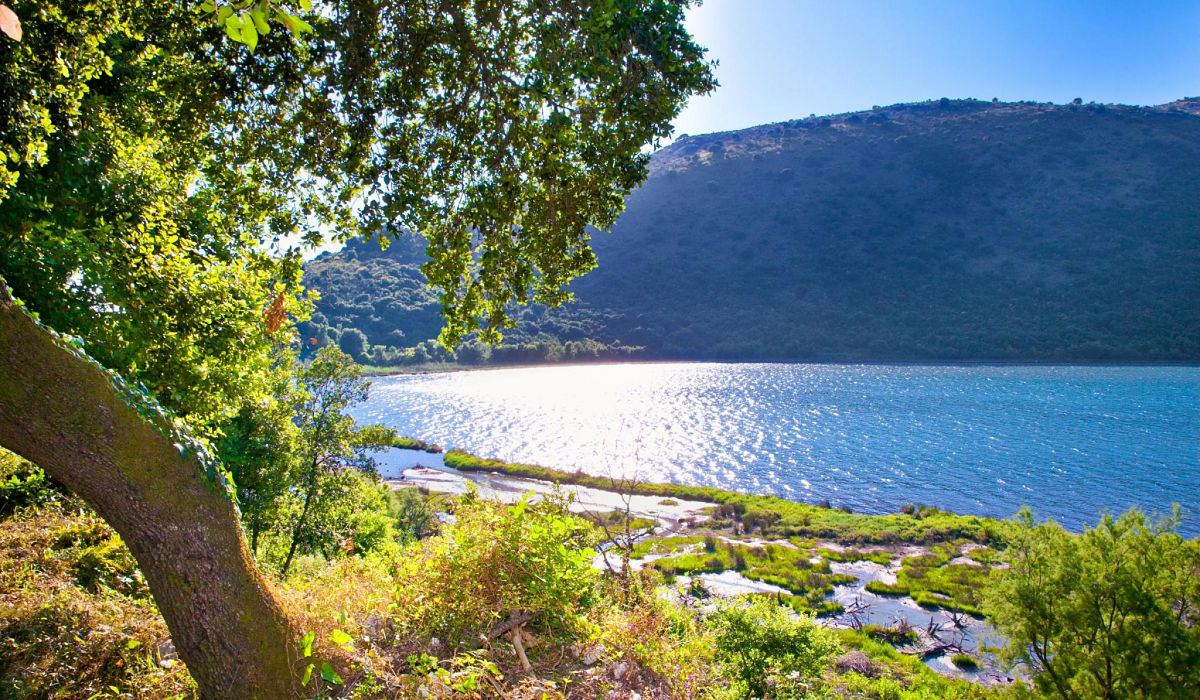 Vista panoramica del Parco Nazionale di Butrint